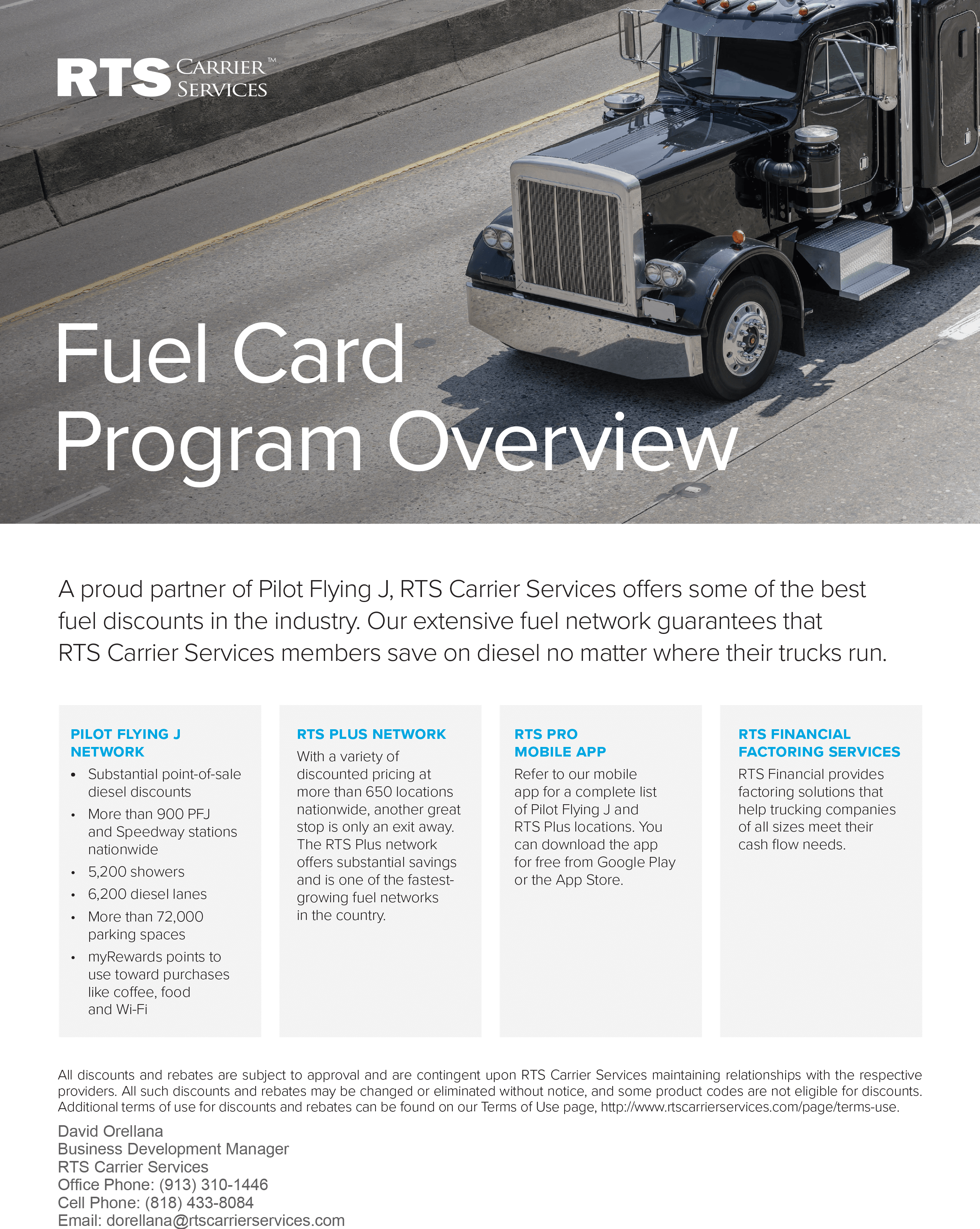 Fuel Card Program Overview